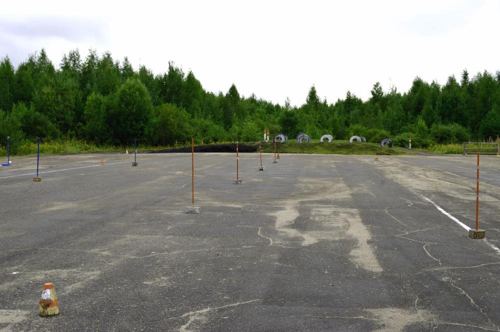 Закрытая площадка в г.Никольск